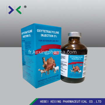 Oxytétracycline animale 5% d'injection